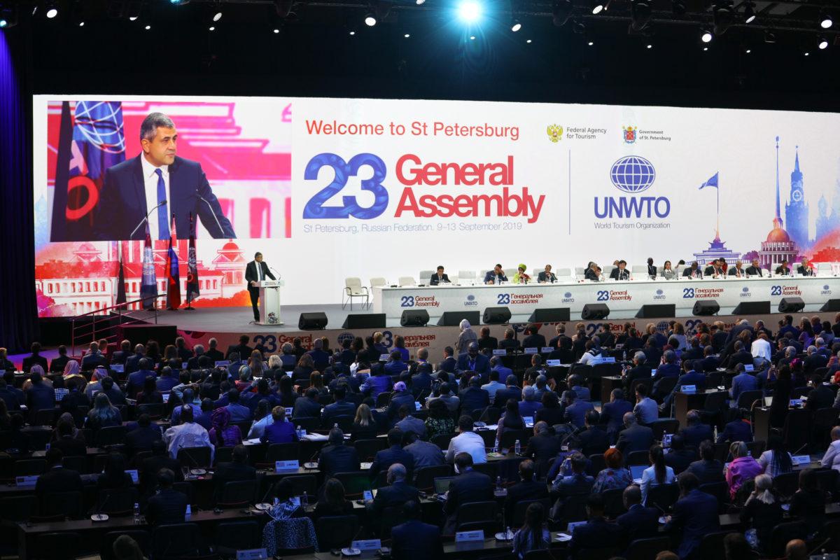 ООО «Комплексные системы безопасности» обеспечило услугами связи  Генеральную ассамблею UNWTO